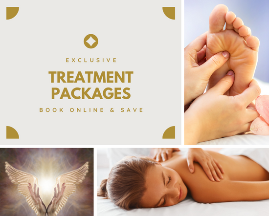 massage reflexology and hypnotherapy packages